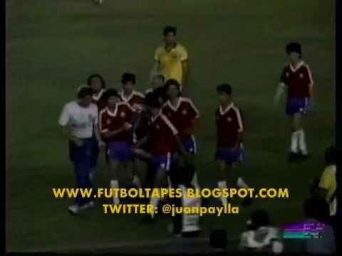 """1989: La bengala y el engaño del portero chileno """"Cóndor"""" Rojas en el Maracaná"""