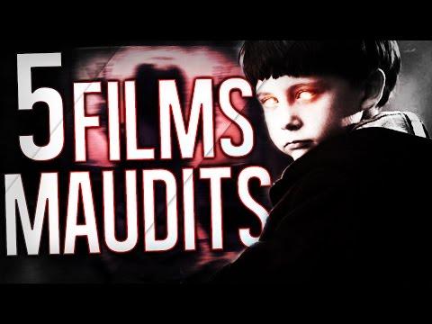 MARK : Les 5 FILMS MAUDITS HANTÉS ! (top 5 films d'horreur)