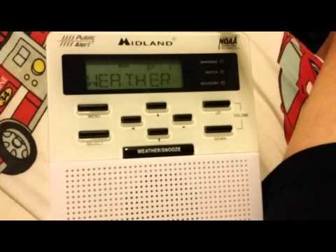 NOAA Weather Radio: Wind Advisory