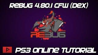 [How To] Play Rebug 4.80.1 DEX CFW Online Tutorial
