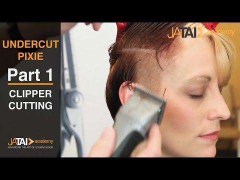 Undercut Pixie - Clipper Cutting & Addressing the Nape - Part 1