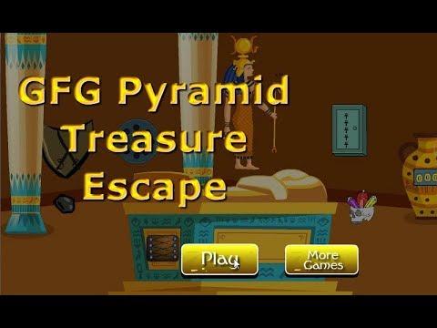 GFG Pyramid Treasure Escape