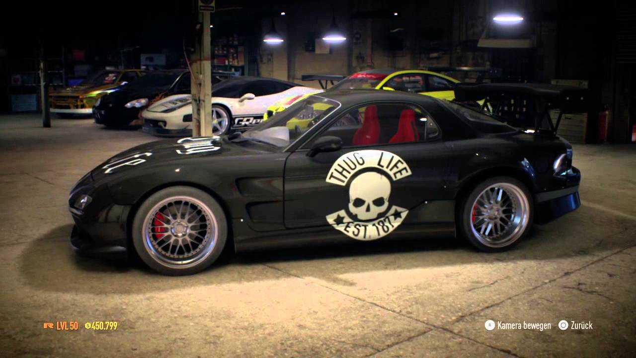 Need for Speed 2015 Tuning Mazda RX7 Spirit R