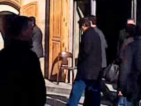 فيديو بشار الاسد يتجول في شوارع حلب