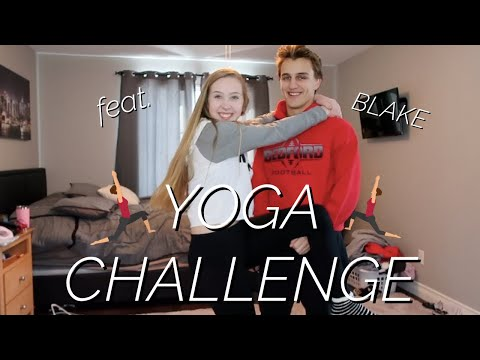 YOGA CHALLENGE W/ MY BOYFRIEND