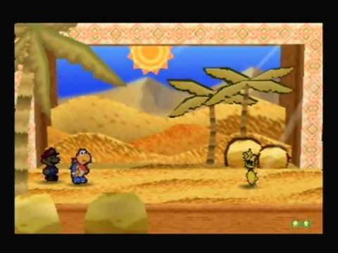 Let's Play Paper Mario Part 12: Moustafa and the Dry Dry Super Block Conspiracy