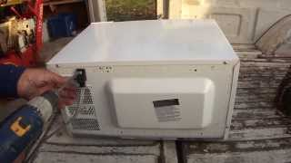 How To Scrap A Microwave Oven For Metals / Money