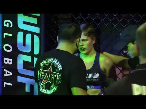 Wimp 2 Warrior Finals Brisbane Ariana Cooper vd Amandine Schneider