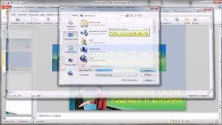 как сделать банер в программе Microsoft PowerPoint 2010