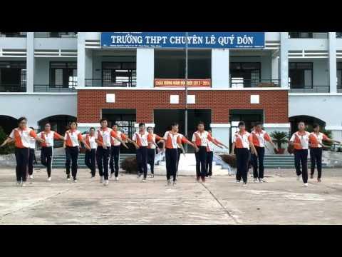 Bài Thể dục Nhịp điệu Nữ khối 12