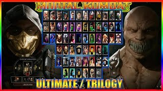 🔴 NOVO MORTAL KOMBAT ULTIMATE / TRILOGY - ZERANDO NO VERY HARD !