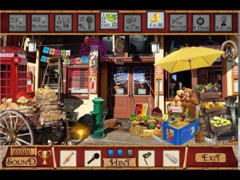Street Shops Free Find Hidden Objects Games Youtube