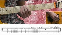ratt lay it down lesson with onscreen tabs