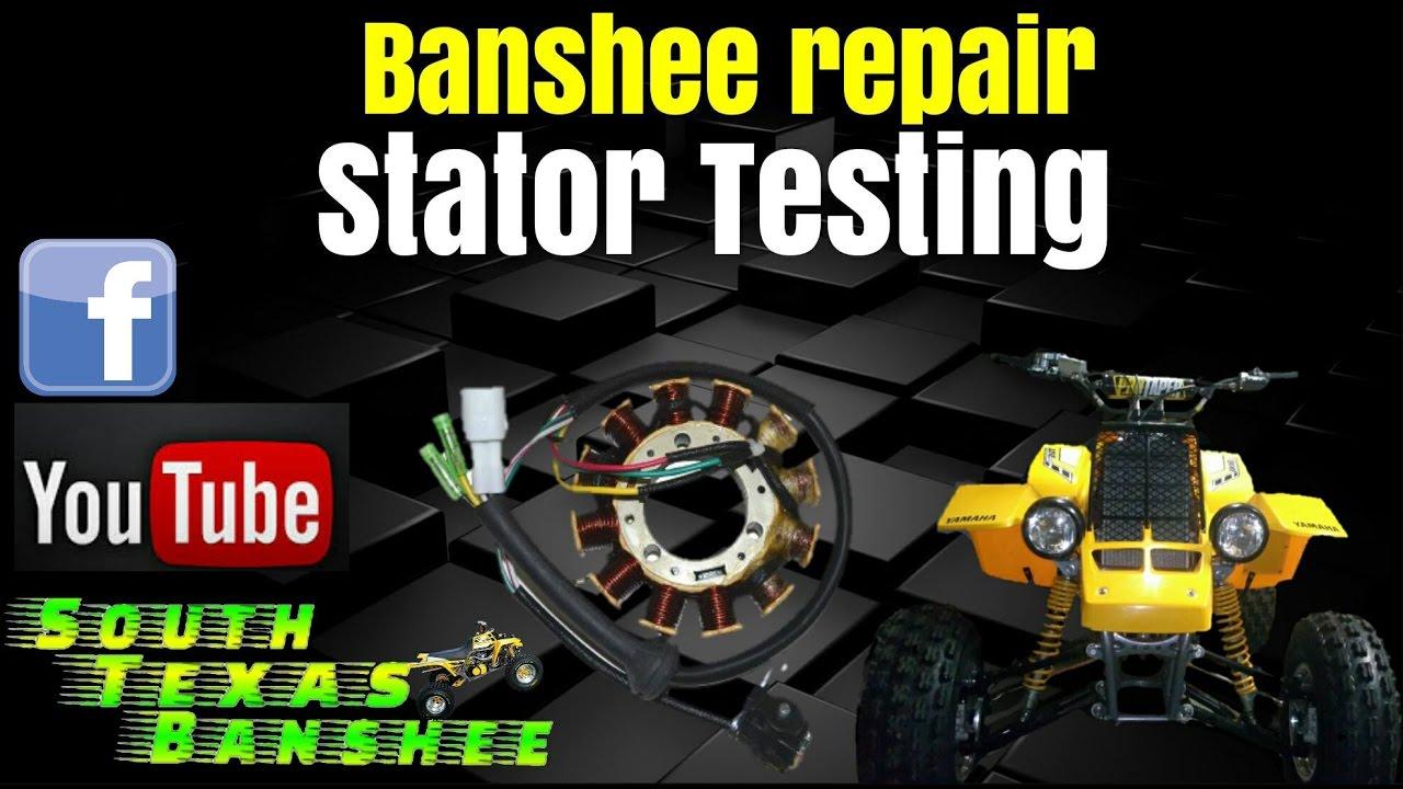 how to test banshee stator  banshee stator testing