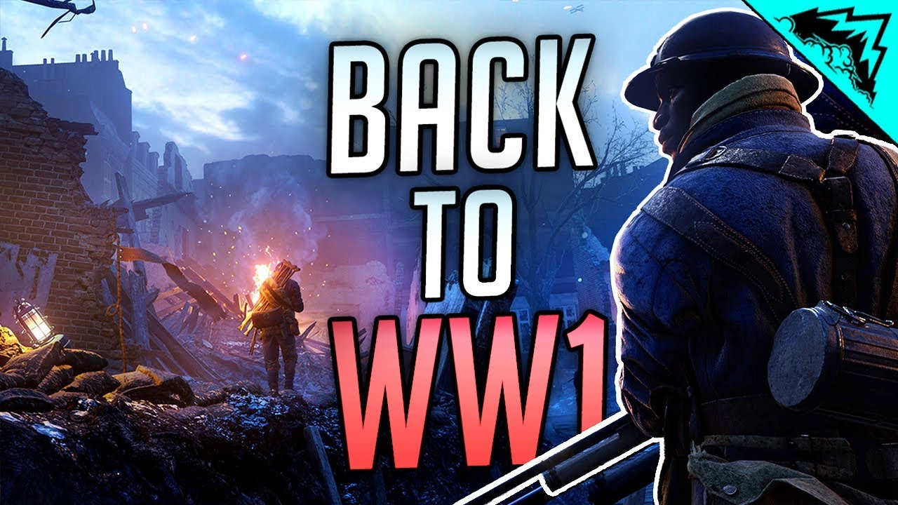 BACK TO WW1 SNIPING - Battlefield 1 Gameplay
