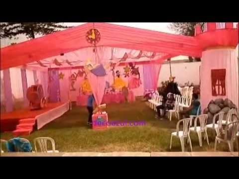 Decoracion de fiestas infantiles princesas campanita - Fiestas infantiles princesas disney ...