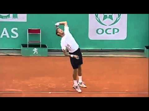 2013 Martin Klizan serve front