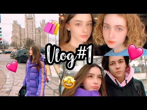 MOSCOW VLOG❄️ Shopping🎁! Russian Luxury Store😳My DAD'S FAN MEETING!⭐️ (WITH SUBS)