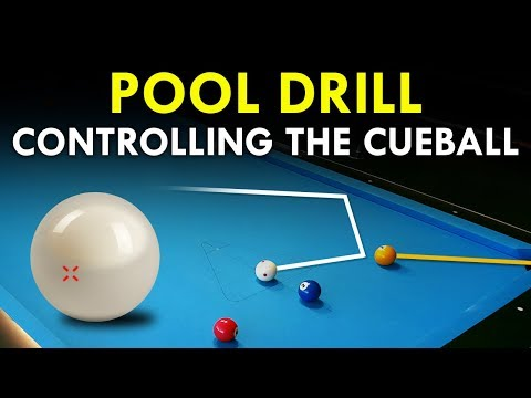 Pool Drill | Controlling The Cueball
