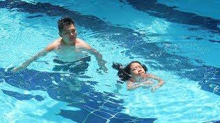 Каролина научилась плавать в 6 лет! Пробуем сладости из Великолепного Века! / 14.07.19
