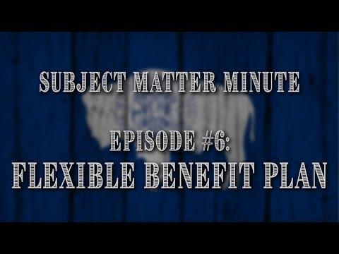 subject-matter-minute,-episode-#6---flexible-benefit-plan