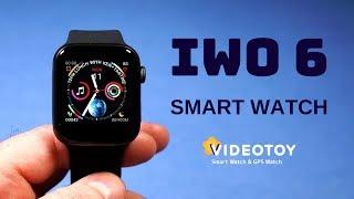 часы Smart Watch IWO 6 полный обзор интерфейса 0