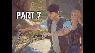 DAYS GONE Walkthrough Part 7 - First Date (PS4 Pro Let's Play)