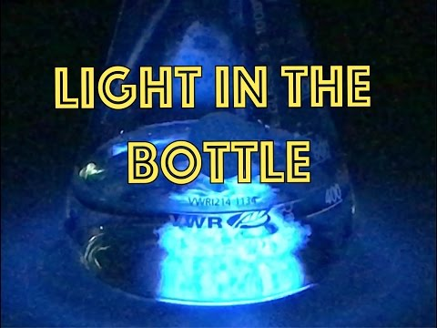 Luminol / Light In The Bottle / Reaction Of Luminol With H2O2
