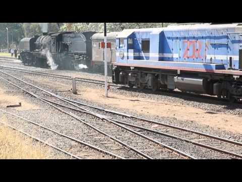 Zimbabwe Steam Trains 2013