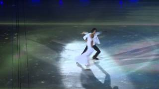 Оксана Домнина и Максим Шабалин на шоу Ильи Авербуха 27.04.2014