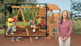 Safe Swing Bays For Wooden Playsets