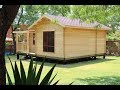 India prefab   Wooden House Installation Video