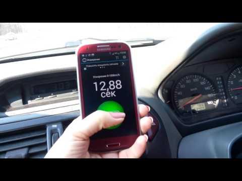 Mitsubishi RVR разгон до 100 Km/h