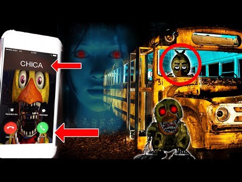 (PIZZA?!) CALLING CHICA ON FACETIME AT 3 AM | CHICA TOOK OUR PIZZA! (SIRI TOLD CHICA OUR LOCATION!)