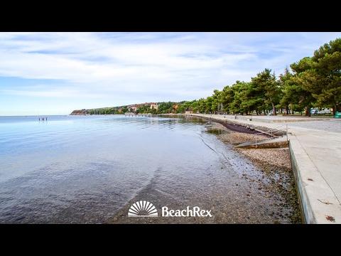 beach Ankaran, Ankaran, Slovenia