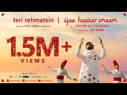 Teri Rehmatein / Yaa Haazar Imaam | Diamond Jubilee India Song by Jishan Ali Thobani