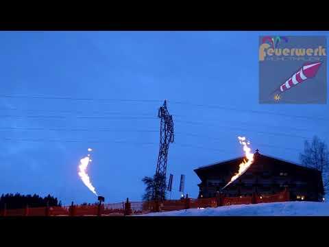 Flammenshow Sabre Dance