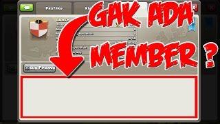 MEMBONGKAR MISTERI COC #8 - Cara Buat Clan Berhantu (Clan Tanpa Anggota) - Clash Of CLans Indonesia