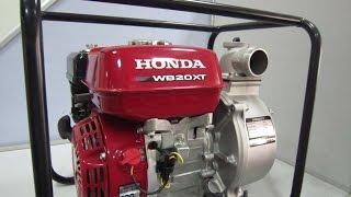 видео Мотопомпа Honda WT 40 X