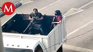 Testigo narra cómo fueron las balaceras en Culiacán, Sinaloa