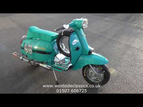 1969 Lambretta GP125 Scooter For Sale at Woldside Classic and Sports Car in Louth Lincolnshire