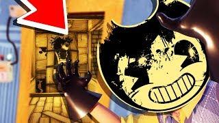 OFFICIAL BENDY x HELLO NEIGHBOR GAME! 😱 Secret Basement Bendy Summonings!? (Halloween Update)