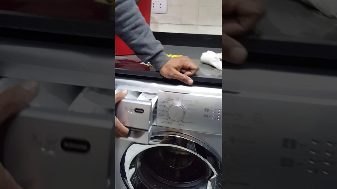 طريقه تشغيل غساله زانوسى اتوماتيك 2018