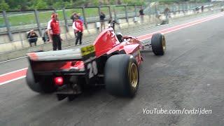 [18+] Ferrari F1 412 T2 - Mother of the FORMULA 1! BEST SOUNDS!
