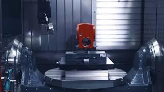 5-и осевой Фрезерный обрабатывающий центр Hedelius Acura 65 EL c автоматизацией загрузки-выгрузки