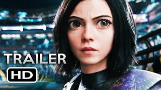 ALITA: BATTLE ANGEL Official Trailer 3 (2019) James Cameron Sci-Fi Action Movie HD
