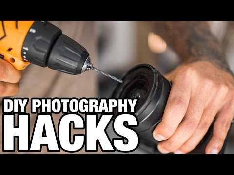 5 EASY DIY PHOTOGRAPHY HACKS 📷