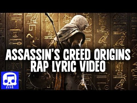 Assassin's Creed Origins Rap LYRIC VIDEO by JT Music -