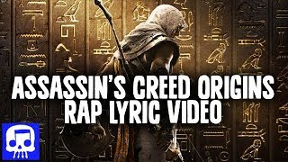 "Assassin's Creed Origins Rap LYRIC VIDEO by JT Music - ""I'm The Creed"""