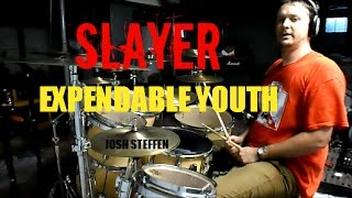 SLAYER - Expendable Youth (mobile link in description) - drum cover